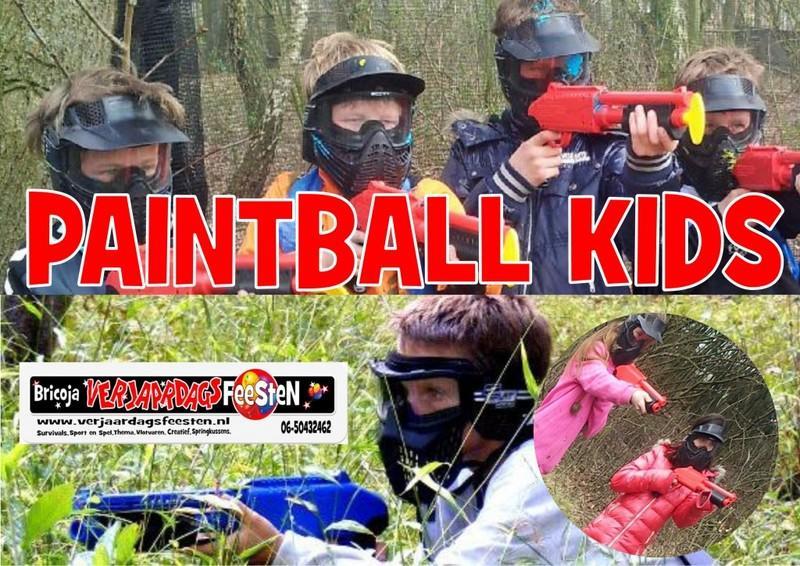 paintball verjaardagsfeest